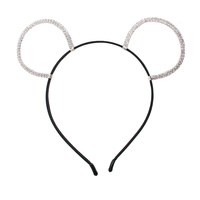 RHINESTONE EAR HEADBAND