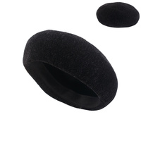 CHENILLE FABRIC SIDE CLASSY BERET