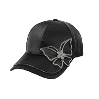 BUTTERFLY STONE PATCH FASHION CAP