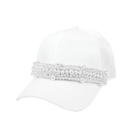 PEARL BAND FASHION CAP