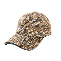 FULL RHINESTONE GEM BASEBALL CAP