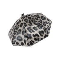 LEOPARD CHEETAH FRENCH BERET PLEATH