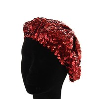 FRENCH BERET WITH  SEQUIN