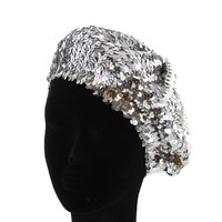 Htc586S Full Sequin French Beret Hat