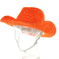 Glitter Sparkle Cowboy Hat Htc590Or