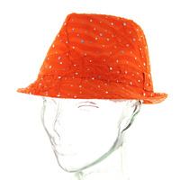 Glitter Sparkle Fedora Hat Htc591Or