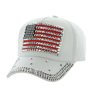 USA FLAG DENIM CAP