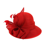 GATSBY FANCY FLAX FABRIC SMALL HAT