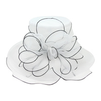 ORGANZA FLOPPY CHURCH HAT