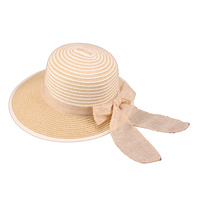 SWIRL PAPER BRAID SUN HAT