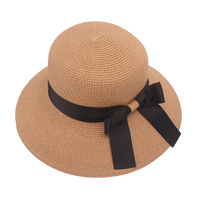 CLOCHE SUN HAT W/ BOW