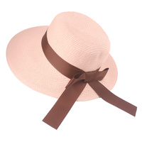 CLOCHE SUN HAT BACK BOW