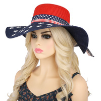 USA AMERICA FLAG FLOPPY SUN HAT