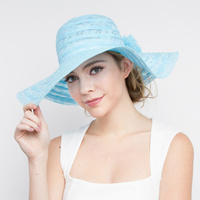 FLOPPY HAT W/BOW ON BACK