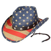 STARS STRIPES PATRIOTIC USA COWBOY