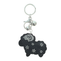 STONED SHEEP KEYCHAIN