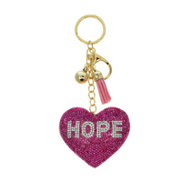 STONED HEART KEYCHAIN W/ HOPE