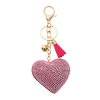 STONED HEART PUFFY KEY CHAIN