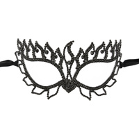 FLAIR RHINESTONE MASQUERADE MASK