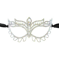 SIMPLE MASQUERADE RHINESTONE MASK