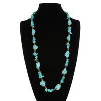 WESTERN LOOK TQ NECKLACE