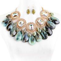 CHUNKY FASHION NECKLACE SET