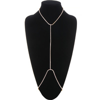 CUBIC NECKLACE BODY CHAIN