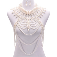 RUNWAY PEARL LAYERED BODY HARNESS