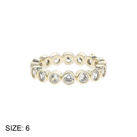 SIZED CZ ETERNITY BAND