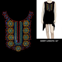 HOTFIX ETHNIC PRINT SHIRT
