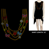 NECKLACE PRINT HOT FIXSHIRT