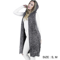 SPARKLING OPEN LONG VEST
