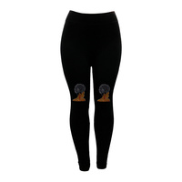 LEGGINGS BROWN SUGAR RED EAR