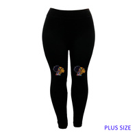 PLUS LEGGINGS BROWN SUGAR HEADWRAP