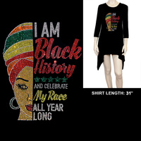 LONG SLEEVE BLACK HISTORY