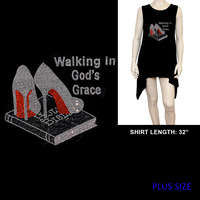 PLUS SHIRT WALKING GOD'S GRACE