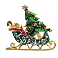 CHRISTMAS SLED PIN